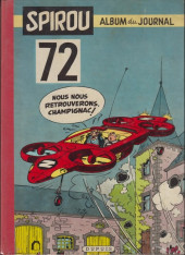 (Recueil) Spirou (Album du journal) -72'- Spirou album du journal