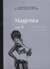 Les grands Classiques de la Bande Dessinée érotique - La Collection -6954- Magenta - tome 3