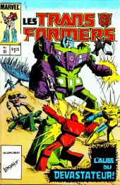 Les transformers (Éditions Héritage) -10- L'aube du dévastateur