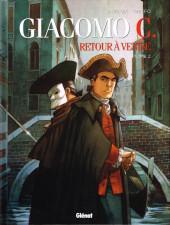 Giacomo C. - Retour à Venise -2- Tome 2 - Le maître d'école