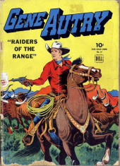 Four Color Comics (Dell - 1942) -57- Gene Autry, Raiders of the Range