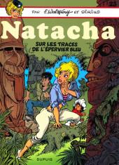 Natacha -23- Sur les traces de l'Épervier Bleu