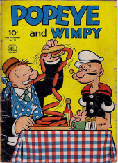 Four Color Comics (Dell - 1942) -70- Popeye and Wimpy
