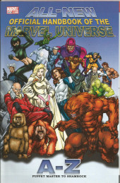 All-New official handbook of the Marvel universe A to Z (2006) -9- Puppet Master to Shamrock