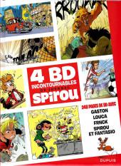 4 BD Incontournables du journal Spirou