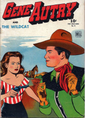 Four Color Comics (Dell - 1942) -75- Gene Autry and the Wildcat