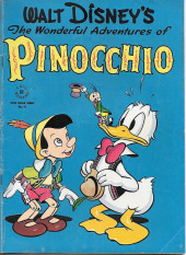 Four Color Comics (Dell - 1942) -92- Walt Disney's The Wonderful Adventures of Pinocchio