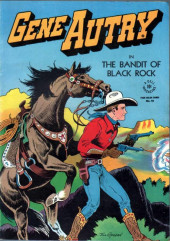 Four Color Comics (Dell - 1942) -93- Gene Autry in the Bandit of Black Rock