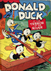 Four Color Comics (Dell - 1942) -108- Donald Duck in the Terror of the River