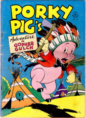 Four Color Comics (Dell - 1942) -112- Porky Pig's Adventure in Gopher Gulch