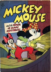 Four Color Comics (Dell - 1942) -116- Mickey Mouse and the House of Many Mysteries