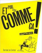 (AUT) Lefred-Thouron - Et puis c'est comme ça !