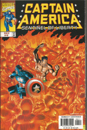 Captain America Sentinel of Liberty (1998) -4- Descent into madness chapter three heatwave