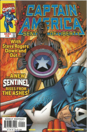 Captain America Sentinel of Liberty (1998) -9- Back in black