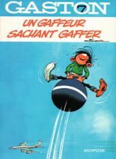 Gaston -7a1985- Un gaffeur sachant gaffer