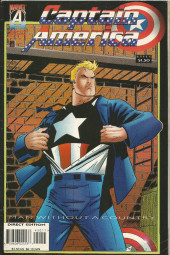 Captain America (1968) -450- Man without country: Chapter one : Executive action