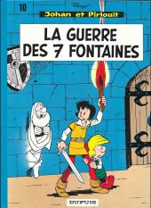 Johan et Pirlouit -10c82- La guerre des 7 fontaines