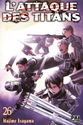 L'attaque des Titans -26- Tome 26