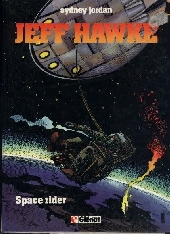 Couverture de Jeff Hawke -7- Space rider