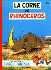 Spirou et Fantasio -6c1977- La corne de rhinocéros