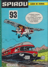 (Recueil) Spirou (Album du journal) -93'- Spirou album du journal