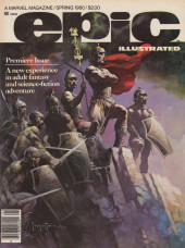 Couverture de Epic Illustrated (Marvel comics - 1980) -1- Epic Illustrated #1