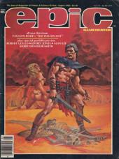 Epic Illustrated (Marvel Comics - 1980) -19- Epic Illustrated #19