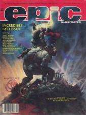Epic Illustrated (Marvel Comics - 1980) -34- Epic Illustrated #34