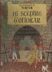 Tintin (Historique) -8B22- Le sceptre d'Ottokar