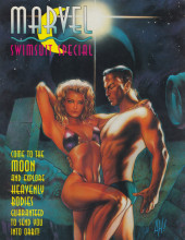 Marvel Swimsuit Special (1992) -3- Come to the Moon and Explore Heavenly Bodies Guaranteed to Send You into Orbit!
