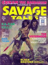 Savage Tales (Marvel - 1971) -1- Savage Tales #1