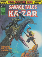 Couverture de Savage Tales (Marvel - 1971) -AN01- Savage Tales Featuring Ka-zar #12