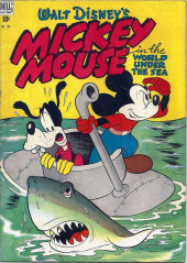 Four Color Comics (Dell - 1942) -194- Mickey Mouse in The World Under the Sea