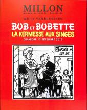 (Catalogues) Ventes aux enchères - Millon - Millon - Bandes Dessinées - Bob et Bobette - Dimanche 13 décembre 2015 - Bruxelles