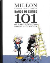 (Catalogues) Ventes aux enchères - Millon - Millon - Bande dessinée -101 originaux d'exception - Dimanche 14 décembre 2014 - Bruxelles