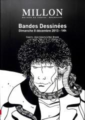 (Catalogues) Ventes aux enchères - Millon - Millon - Bandes Dessinées - Dimanche 8 décembre 2013 - Bruxelles