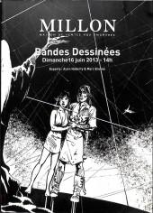 (Catalogues) Ventes aux enchères - Millon - Millon - Bandes dessinées - Dimanche 16 juin 2013- Bruxelles