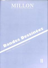 (Catalogues) Ventes aux enchères - Millon - Millon - Bandes Dessinées - 19-20 novembre 2011 - Bruxelles