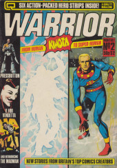 Warrior (Quality comics - 1982) -2- Issue # 2