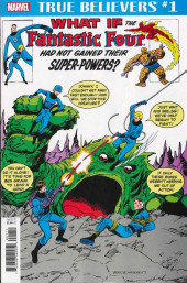 True Believers: What If... (2018) - True Believers: What if the Fantastic Four Had Not Gained Their Super-Powers?