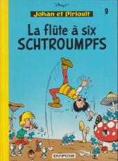 Johan et Pirlouit -9c1981- La flûte à six schtroumpfs