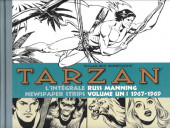 Tarzan : L'Intégrale Russ Manning  -1- Newspaper Strips Volume un : 1967-1969