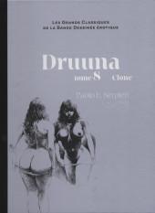 Les grands Classiques de la Bande Dessinée érotique - La Collection -7045- Druuna - Tome 8 Clone