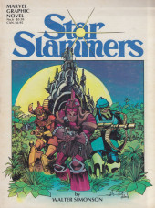 Marvel Graphic Novel (Marvel comics - 1982) -6- Starslammers