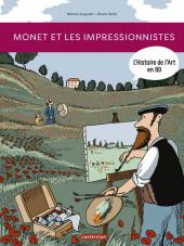 L'histoire de l'art en BD -3- Monet et les impressionnistes