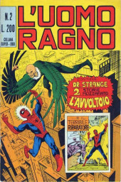 L'uomo Ragno V1 (Editoriale Corno - 1970)  -2- l'Avvoltoio/Il terribile Riparatore