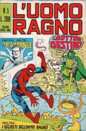 L'uomo Ragno V1 (Editoriale Corno - 1970)  -5- Il Dottor Destino