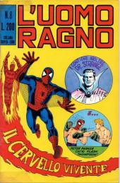 L'uomo Ragno V1 (Editoriale Corno - 1970)  -8- Il Cervello Vivente