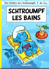 Les schtroumpfs -27a11a- Schtroumpf les Bains