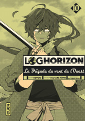 Log Horizon - La brigade du vent de l'ouest -10- Tome 10